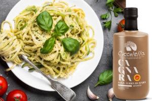 crema di zucchine e olio evo