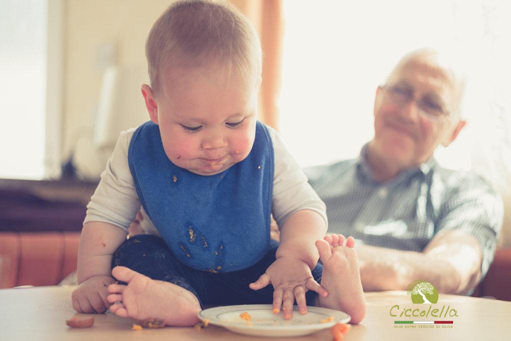 olio extravergine per bambini e in gravidanza